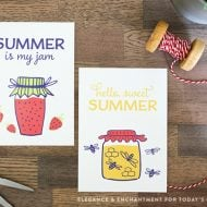 Summer Art FREE Printables designed by Elegance & Enchantment for TodaysCreaitveLife.com | See more creative ideas on TodaysCreativeLife.com