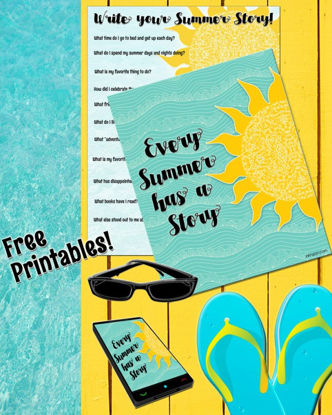 Summer Printables by inkhappi | See more on TodaysCreativeLife.com