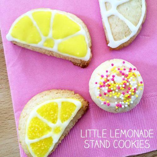 Lemonade Stand Cookies by Jen Goode | The perfect cookies for your Lemonade Stand | Summer | TodaysCreativeLife.com