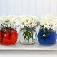 Easy Patriotic Table Decor