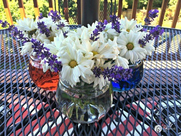 Easy Patriotic Table Decor Todays Creative Life