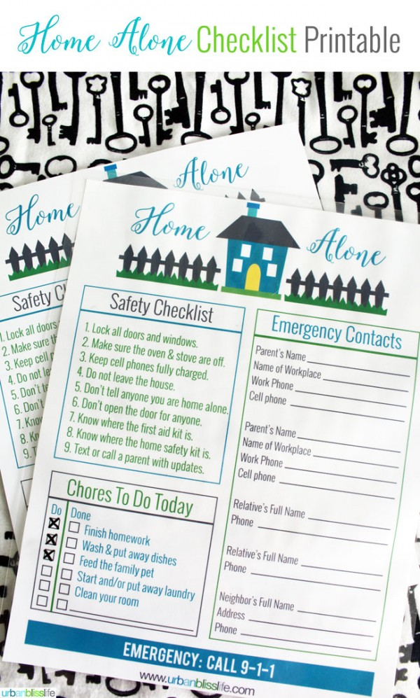 picture about Free Printables for Home named Free of charge Dwelling By itself Printable Todays Innovative Daily life