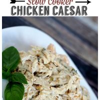 Slow Cooker Caesar Chicken