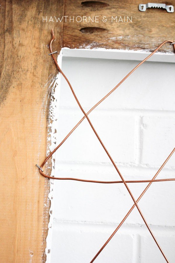 diy home project copper wire photo display today 39 s