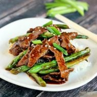 Chinese Beef Green Beans Stir Fry