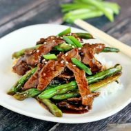 Chinese Beef and Green Bean Stir Fry