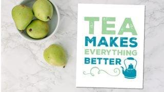 FREE Printable Art Prints for Coffee and Tea Lovers