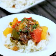 Slow Cooker Sweet and Sour Beef | Find more Slow Cooker Sunday Recipes on TodaysCreativeLife.com