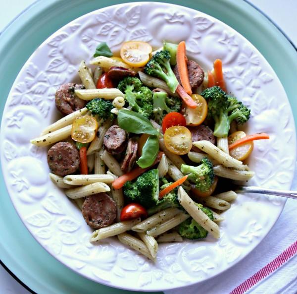 Easy to make Pasta Primavera Dinner | TodaysCreativeLife.com