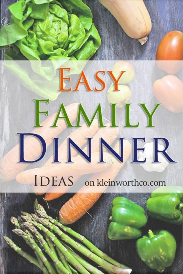 Easy Dinner Ideas from Kleinworth & Co.