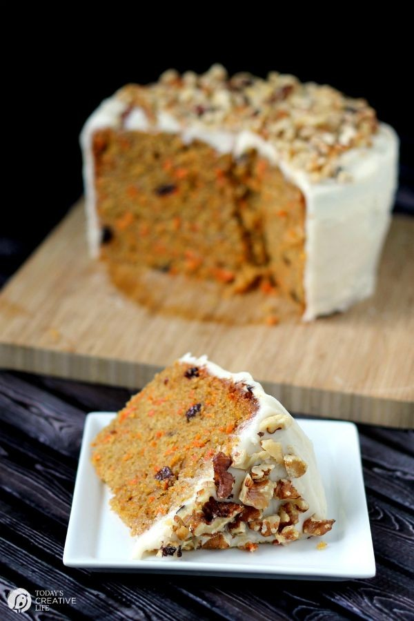 Slow Cooker Carrot Cake With Cream Cheese Frosting Recipe Yes You Can Make 1