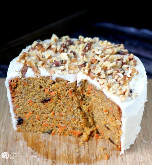 Slow Cooker Carrot Cake Recipe
