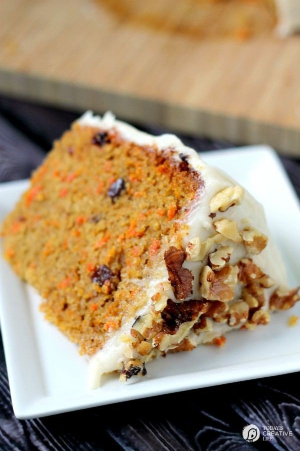 Slow Cooker Carrot Cake With Cream Cheese Frosting Recipe Yes You Can Make