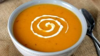 Slow Cooker Spicy Sweet Potato Soup