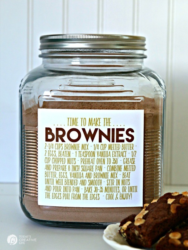 Brownie Mix from TodaysCreativeLife.com