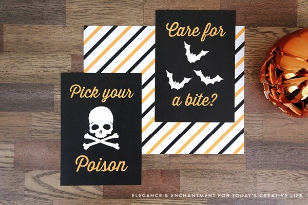 image regarding Halloween Signs Printable named Absolutely free Printable Halloween Prints and Indicators Todays Imaginative