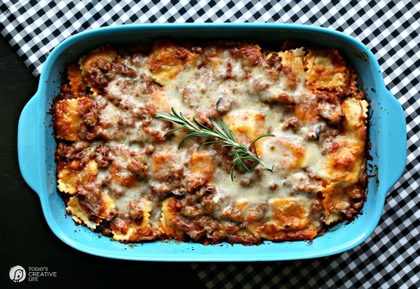baked Italian pasta casserole
