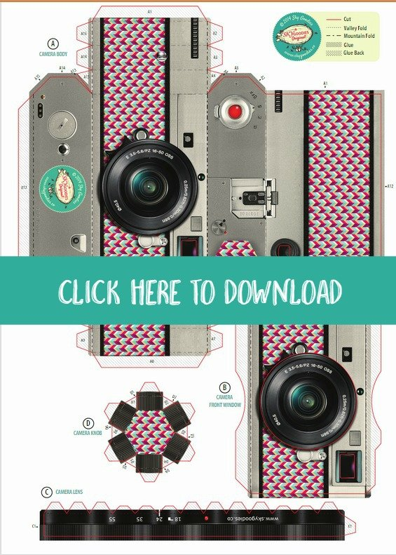 graphic relating to Camera Template Printable identify Free of charge Printable Do it yourself Paper Digicam Picture Body Todays