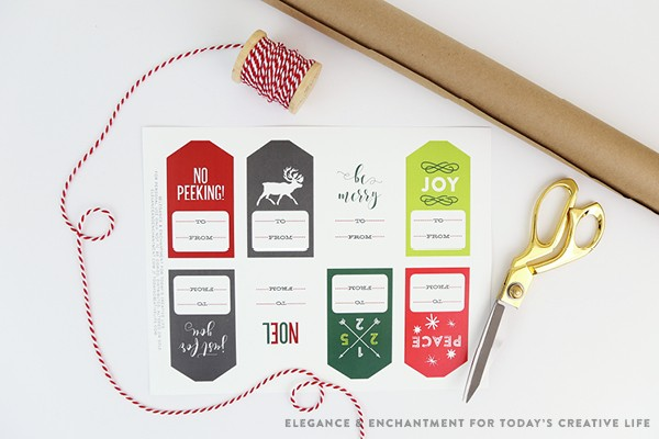 free printable christmas gift tags today s creative life