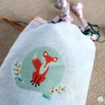 Easy DIY Holiday Gift Bags with GraphicStock | Make cute canvas gift back with iron transfers! See more on TodaysCreativelife.com