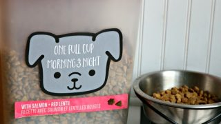 Custom Made Dog Food Container & Free Printable