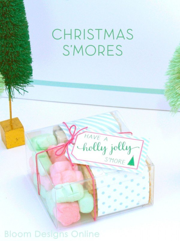 Holly Jolly S'mores Holiday Party | Creative Girls Holiday Soiree on TodaysCreativeLife.com | Come gather a few holiday entertaining ideas, free printables and great DIY projects!