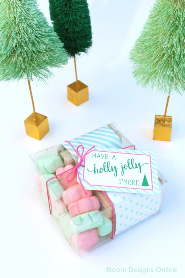 Christmas S'mores Holiday Party | Creative Girls Holiday Soiree on TodaysCreativeLife.com | Come gather a few holiday entertaining ideas, free printables and great DIY projects!