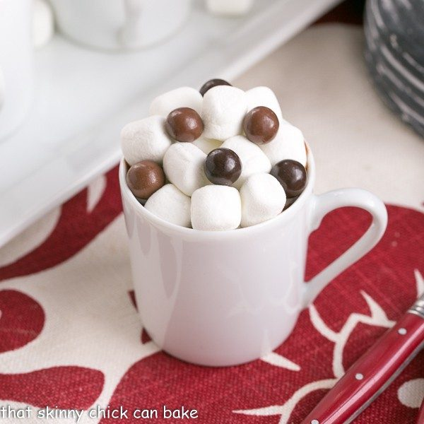 Italian Hot Chocolate by That Skinny Chick Can Bake