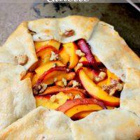 Peach & Nectarine Galette