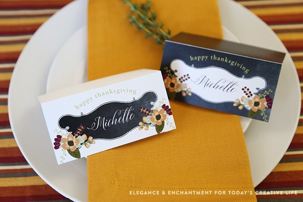 free printable thanksgiving place cards today s creative life