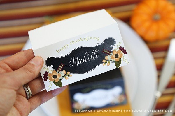 Printable Place Cards | TodaysCreativeLife.com
