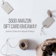 Gift Card Giveaway! $600 from Amazon!