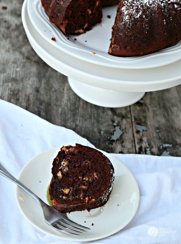Chocolate Peanut Butter Chip Bundt Cake Today S Creative