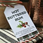 Hot Buttered Rum Recipe - Holiday Happy Hour! | This Hot Butter Rum recipe has vanilla ice cream as it's secret ingredient! 10 bloggers will get you ready for your holiday parties! Cocktail recipes, Hot Drinks, Appetizers! Something for everyone! Join the fun on TodaysCreativeLife.com
