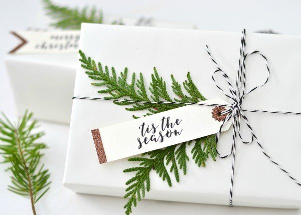 DIY Holiday Gift Tags | Today's Creative Life