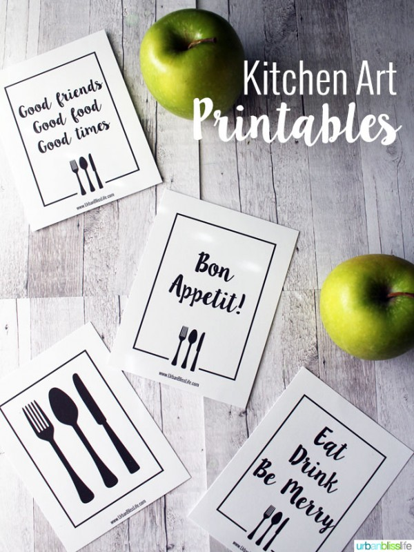 It's just an image of Free Kitchen Printable with regard to home corner