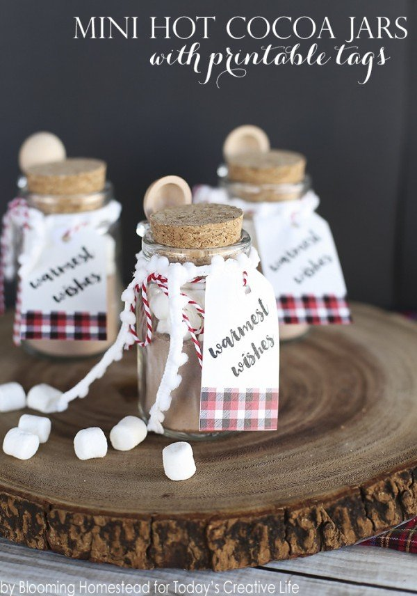 Mini Hot Cocoa Jars Today S Creative Life