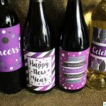 New Year's Eve Printable Wine Labels