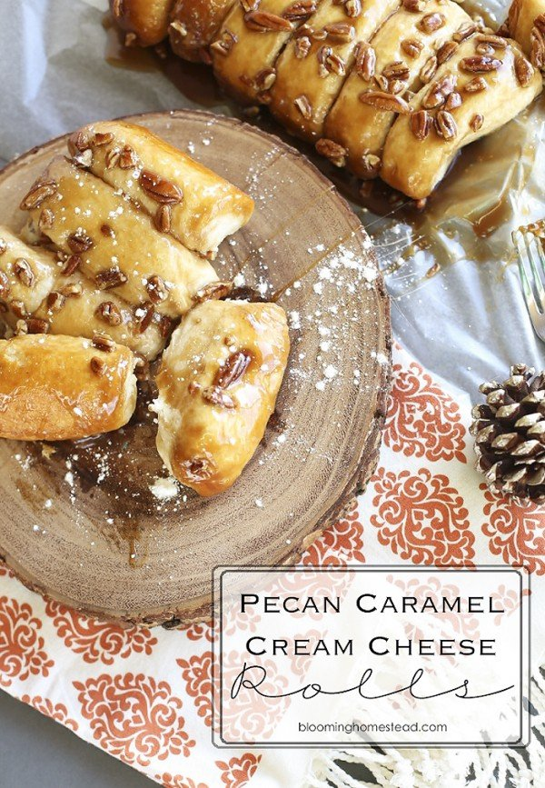 Pecan Caramel Cream Cheese by Blooming Homestead.