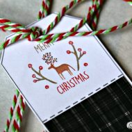 Printable Holiday Gift Tags and Stickers