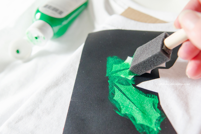 Diy Christmas Shirt Todays Creative Life