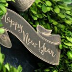 New Years Eve 2016 Printable Banner | Free printable banner for New Years Eve Parties or simple decor. Save for upcoming graduation party planning | TodaysCreativeLife.com