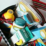 Sports Feet Basket for the athletes in your home. Great gift idea for men or teen boys. See more on TodaysCreativeLife.com