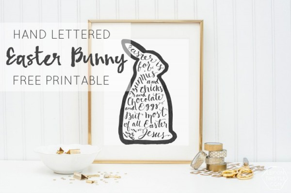 Easter Printable | lemonthistle.com