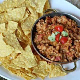 Slow Cooker Mexican Taco Dip   This crock pot dip recipe is great for super bowl, or any game day! Great for potlucks or weekend snacking! Click the photo for the recipe.