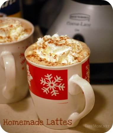 How To Make Latte's at Home | TidyMom.net