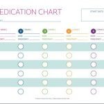 Medication Log Free Printable | This medication tracker helps you keep medication recording easy! A medication chart is a simple way to ease stress when taking medications.