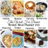 Meal plan | Check out the delicious meal plan on TodaysCreativeLIfe.com