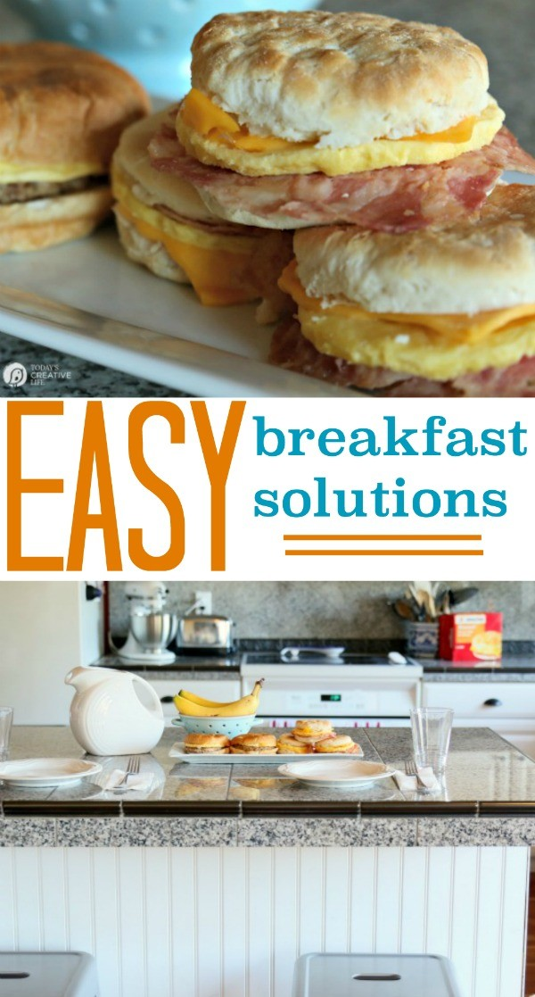Easy Breakfast Solutions | Find a variety of products for quick and easy breakfast ideas. TodaysCreativeLife.com
