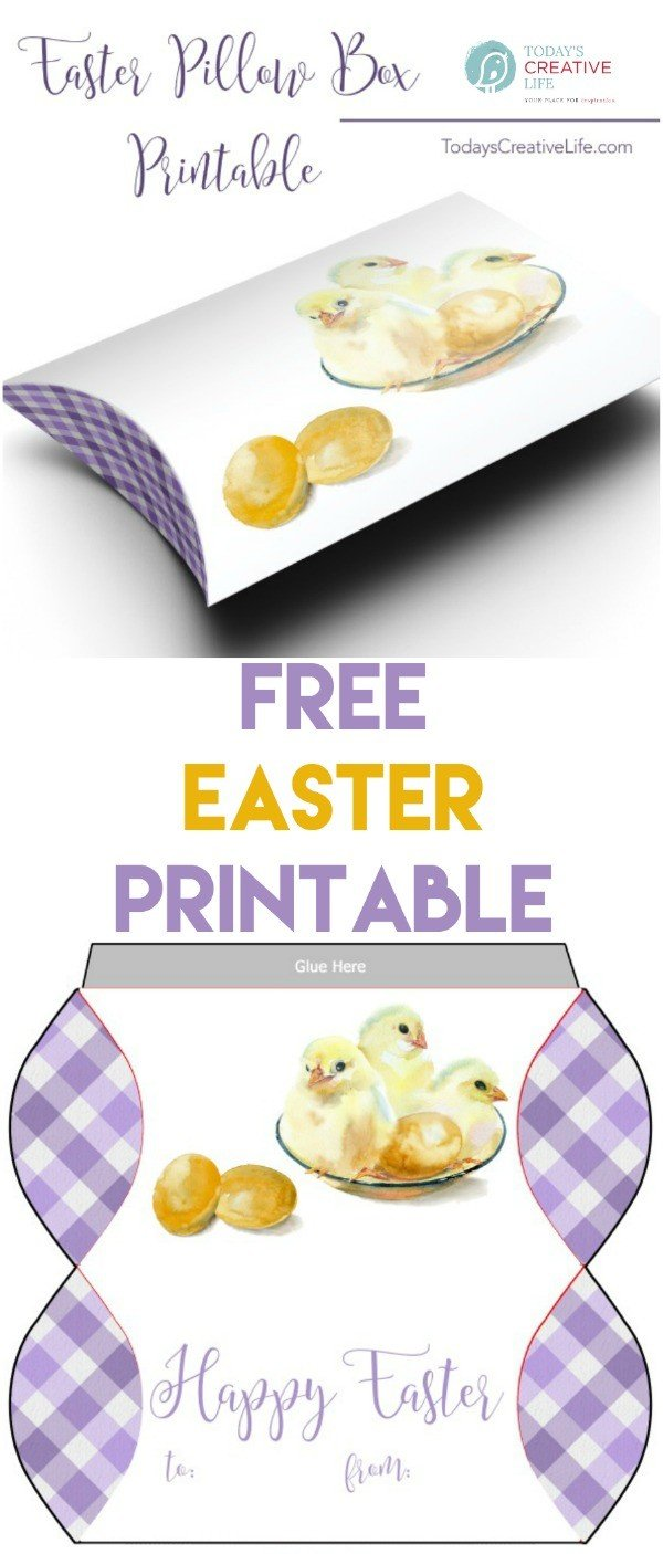 photo collage of easter printables.